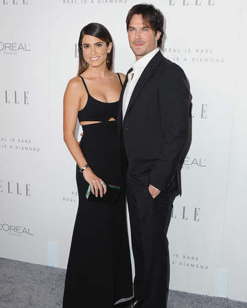 Nikki Reed and Ian Somerhalder Red Carpet