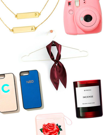 bridesmaids gift guide collage