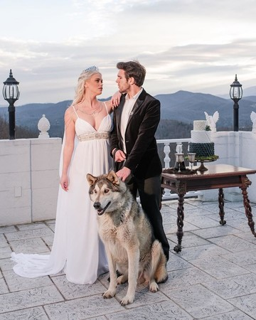 Game of Thrones Wedding Inspiration Shoot