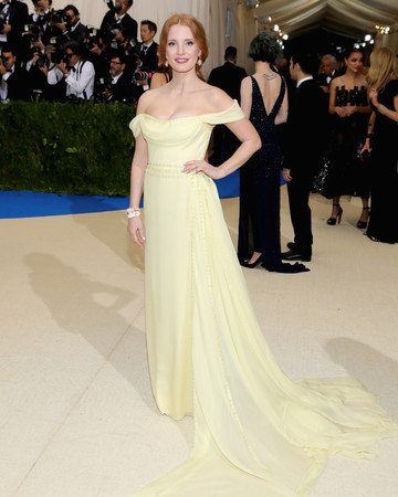 Jessica Chastain Met Gala 2017 Dress