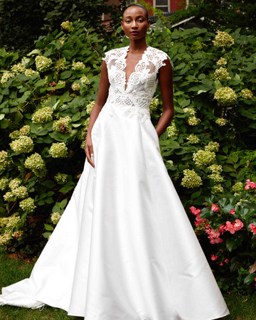 lela rose A-Line wedding dress fall 2019 7653885ea