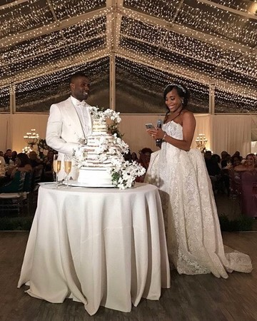 LL Cool Js daughter Italia Smith celebrates her wedding reception