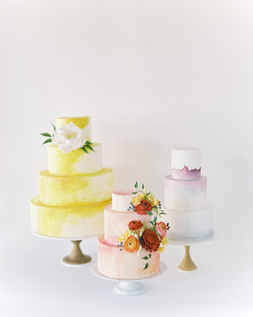 Fall Wedding Cake Trends, Trio Shot
