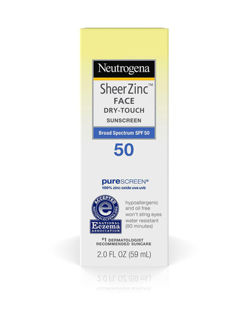 physical sunscreens neutrogena
