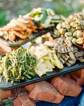 wedding food bars rebecca yale
