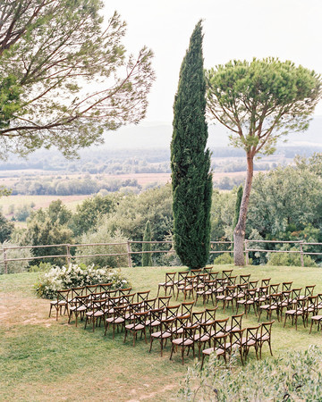 kseniya sadhir wedding outdoor ceremony space