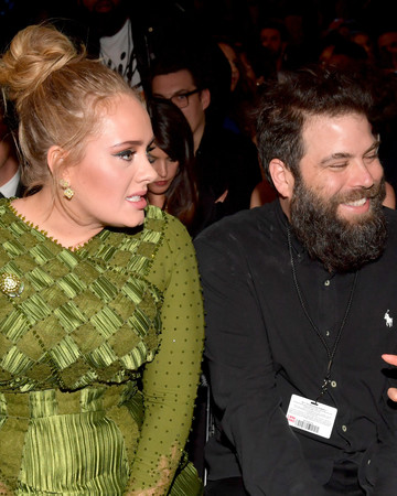 Adele and Simon Konecki Grammys 2017