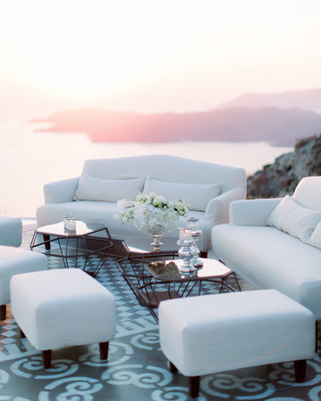 angie prayogo greece wedding lounge furniture