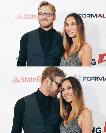 Kellan Lutz and Brittany Gonzales