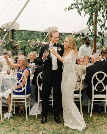 julia mitchell wedding toasts