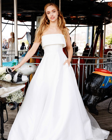 lela rose wedding dress bridal market spring 2020 sleeveless a-line
