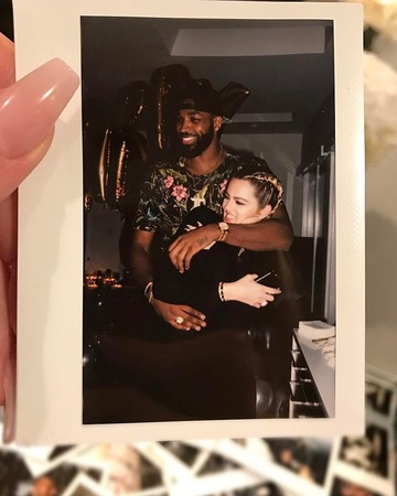 Khloé Kardashian Hugging Tristan Thompson