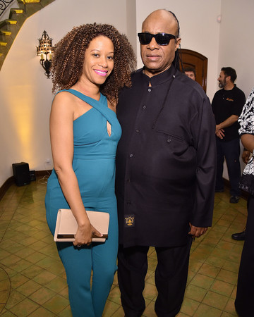 Stevie Wonder and wife Tomeeka Robyn Bracy