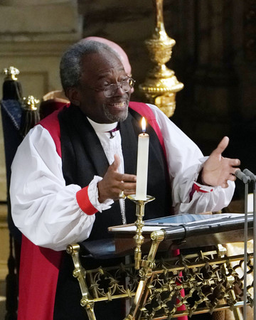 Bishop Michael Curry at Royal Wedding 2018