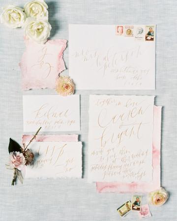 deckle edge invitations maria lamb