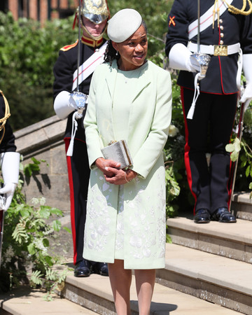 Doria Ragland outfit royal wedding 2018