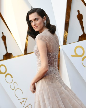 Allison Williams 2018 Oscars Red Carpet