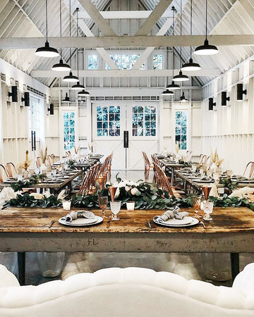 event space table and chairs