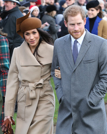 Prince Harry and Meghan Markle Christmas Morning