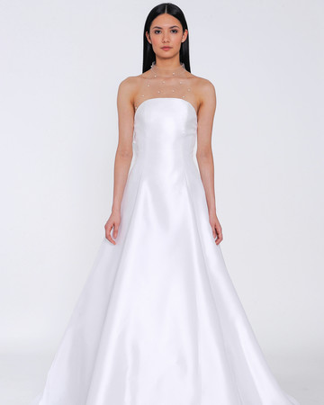 allison webb wedding dress spring 2019 a-line satin