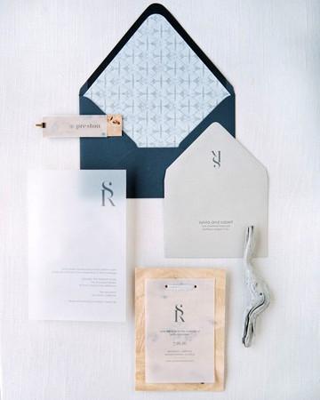 beach wedding invitations wooden accents