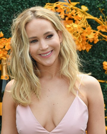 jennifer lawrence at the 12th annual polo classic
