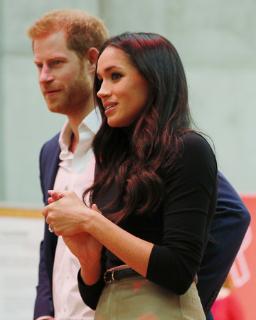 Prince Harry and Meghan Markle Public Outing