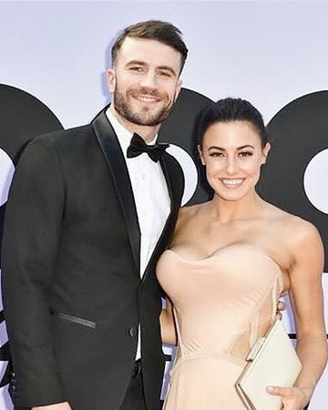 Sam Hunt and wife Hannah Lee Fowler at Billboard Music Awards