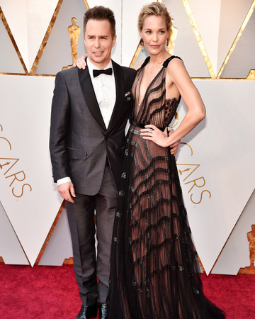 Sam Rockwell and Leslie Bibb 2018 Oscars