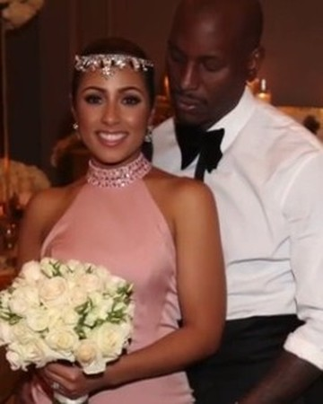 Tyrese Gibson and wife
