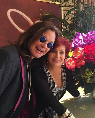 Sharon and Ozzy Osbourne at their Las Vegas vow renewal
