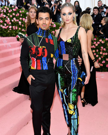 Sophie Turner and Joe Jonas 2019 Met Gala