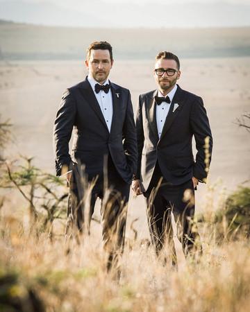 grant lance wedding africa couple