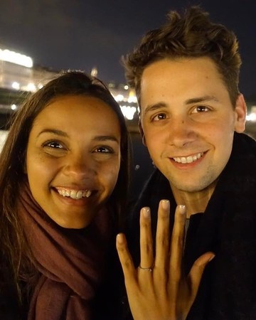 Jessica Lucas and Alex Jermasek's Engagement