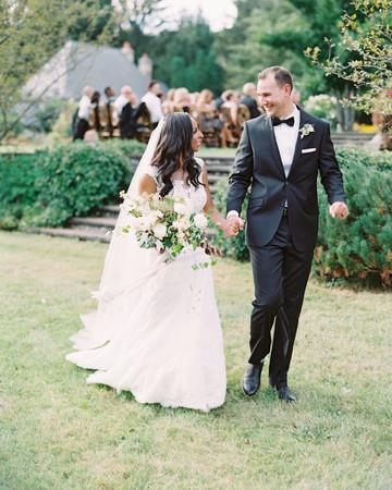 miya matthew wedding couple recessional