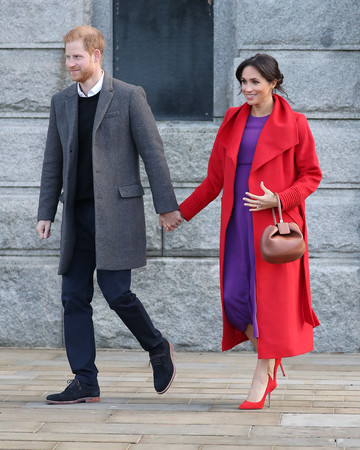 prince harry and meghan markle baby bump