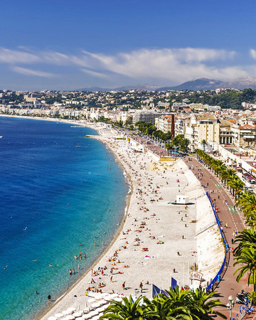 romantic destination france nice coast