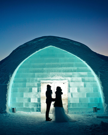 romantic destination ice hotel iceland