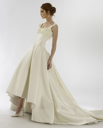 steven birnbaum spring 2020 wedding dress a-line square neck