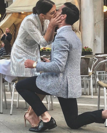 Val Chmerkovskiy and Jenna Johnson Engaged