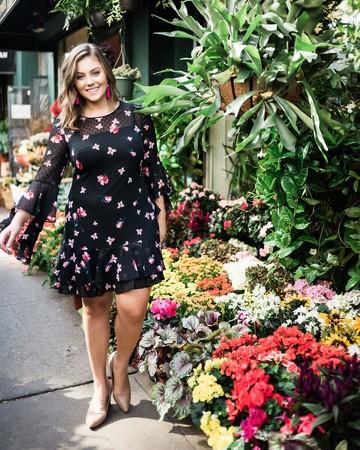 Caralyn Mirand Blogger Model