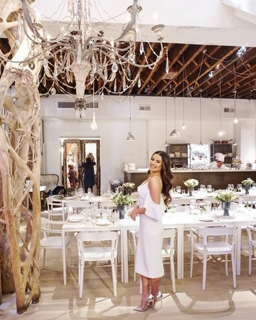 lea michele bridal shower venue