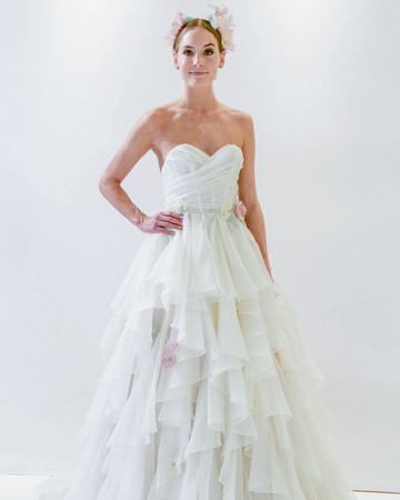 watters sweetheart wrap wedding dress spring 2018