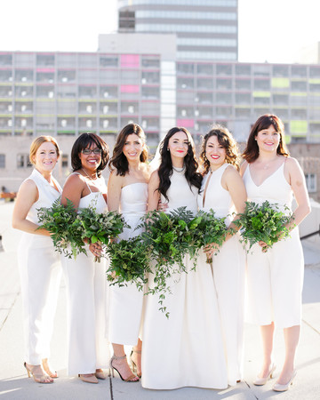 white bridesmaid dresses jenny smith