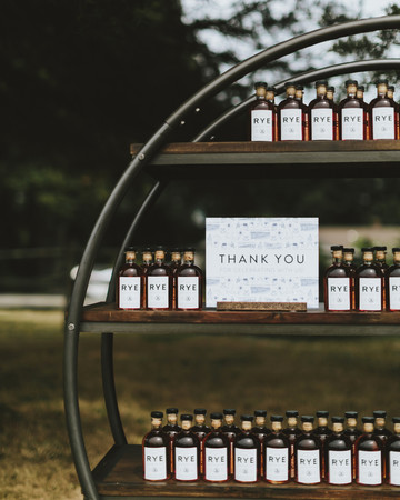 hadley corey wedding favors
