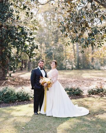 madeline brad wedding couple