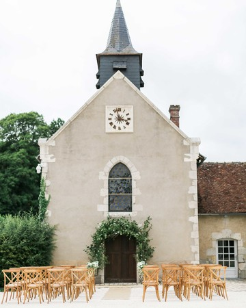 wedding ceremony church