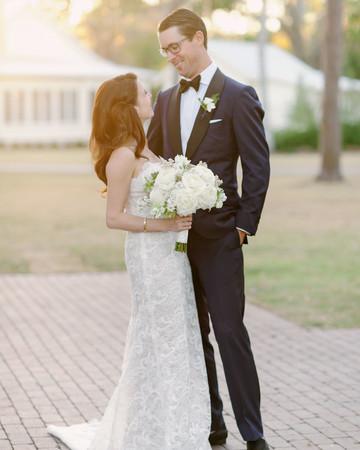 stefanie drew wedding couple bouquet