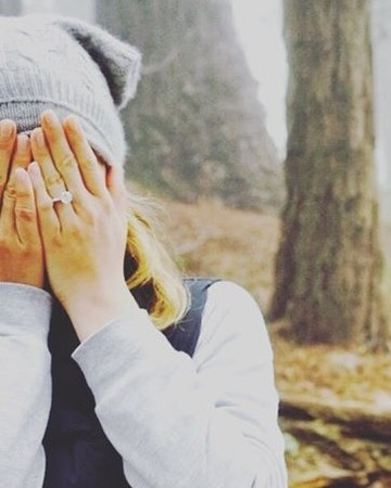 Emily VanCamp and Josh Bowman's Instagram engagement announcement
