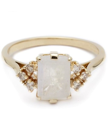"Moonstone Engagement Ring, Anna Sheffield ""Bea"""